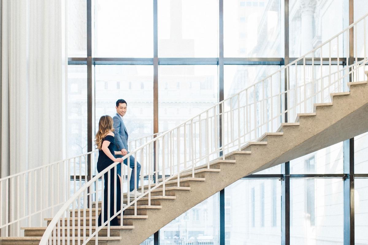 Art Institute of Chicago Engagement Session Nicole Jansma 6