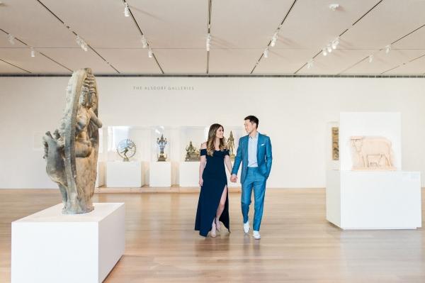 Art Institute of Chicago Engagement Session Nicole Jansma (9)