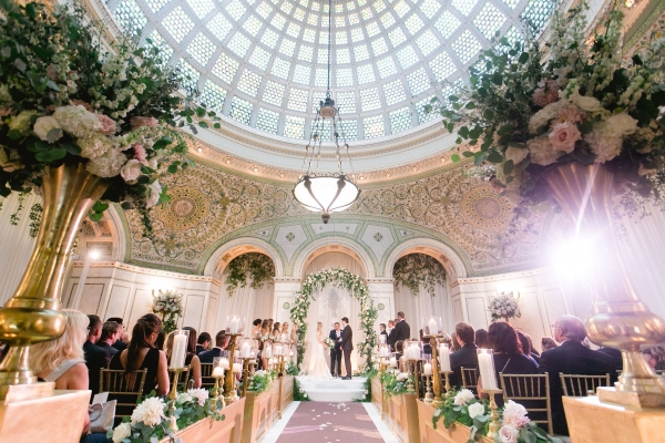 Cassie & Colby - Chicago Cultural Center - Wedicity Wedding - Clary Pfeiffer Photography
