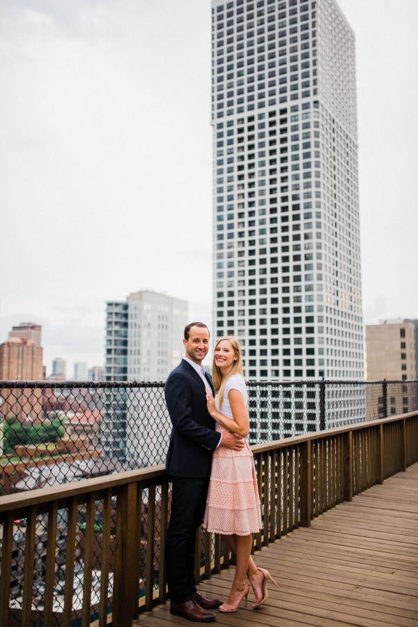 Chicago Gold Coast Engagement Session (12)
