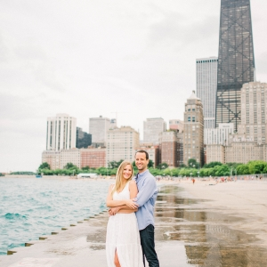 Chicago Gold Coast Engagement Session (20)