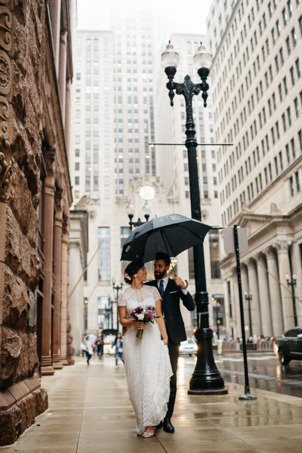 Chicago Rainy Day Loft Wedding Jayne Weddings (13)