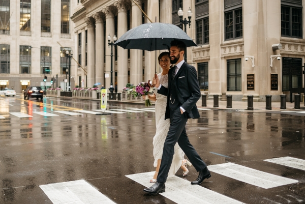 Chicago Rainy Day Loft Wedding Jayne Weddings (14)