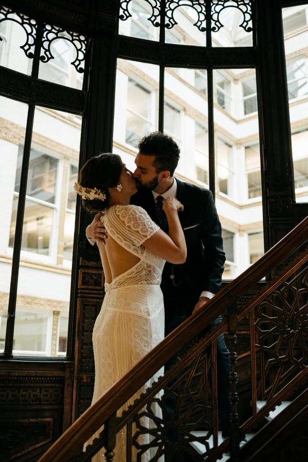 Chicago Rainy Day Loft Wedding Jayne Weddings (2)