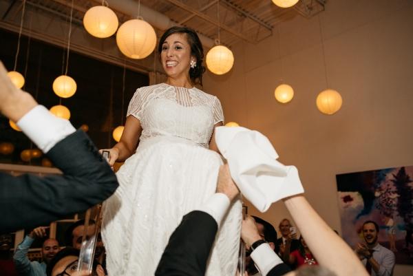 Chicago Rainy Day Loft Wedding Jayne Weddings (38)