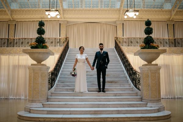 Chicago Rainy Day Loft Wedding Jayne Weddings (4)
