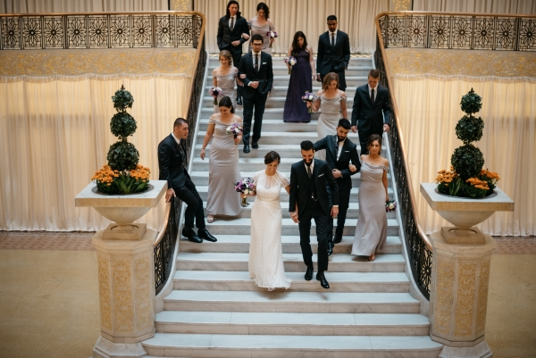 Chicago Rainy Day Loft Wedding Jayne Weddings (7)