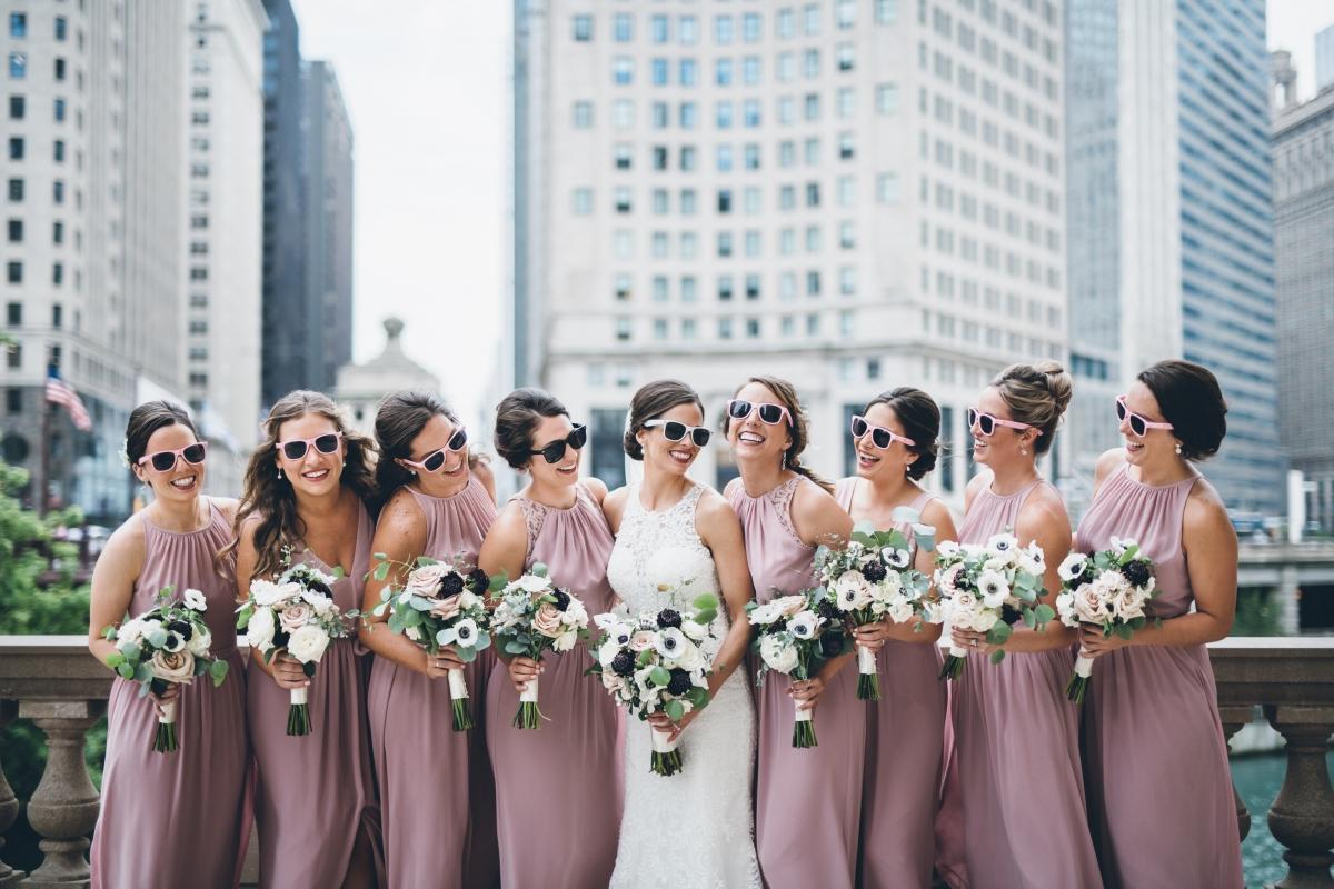 Chicago Wedding Montgomery Club 45