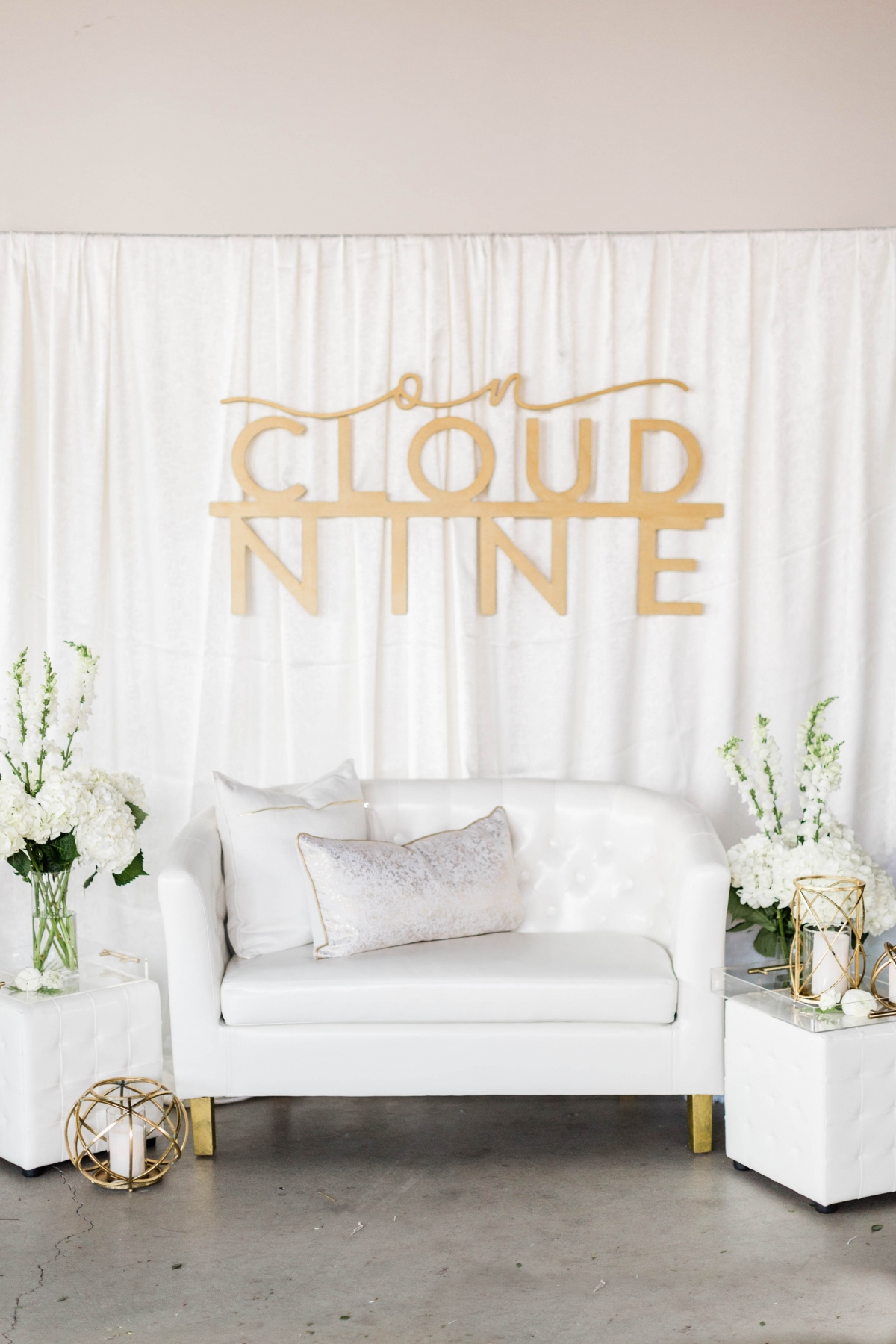 Cloud Wedding Lounge Area
