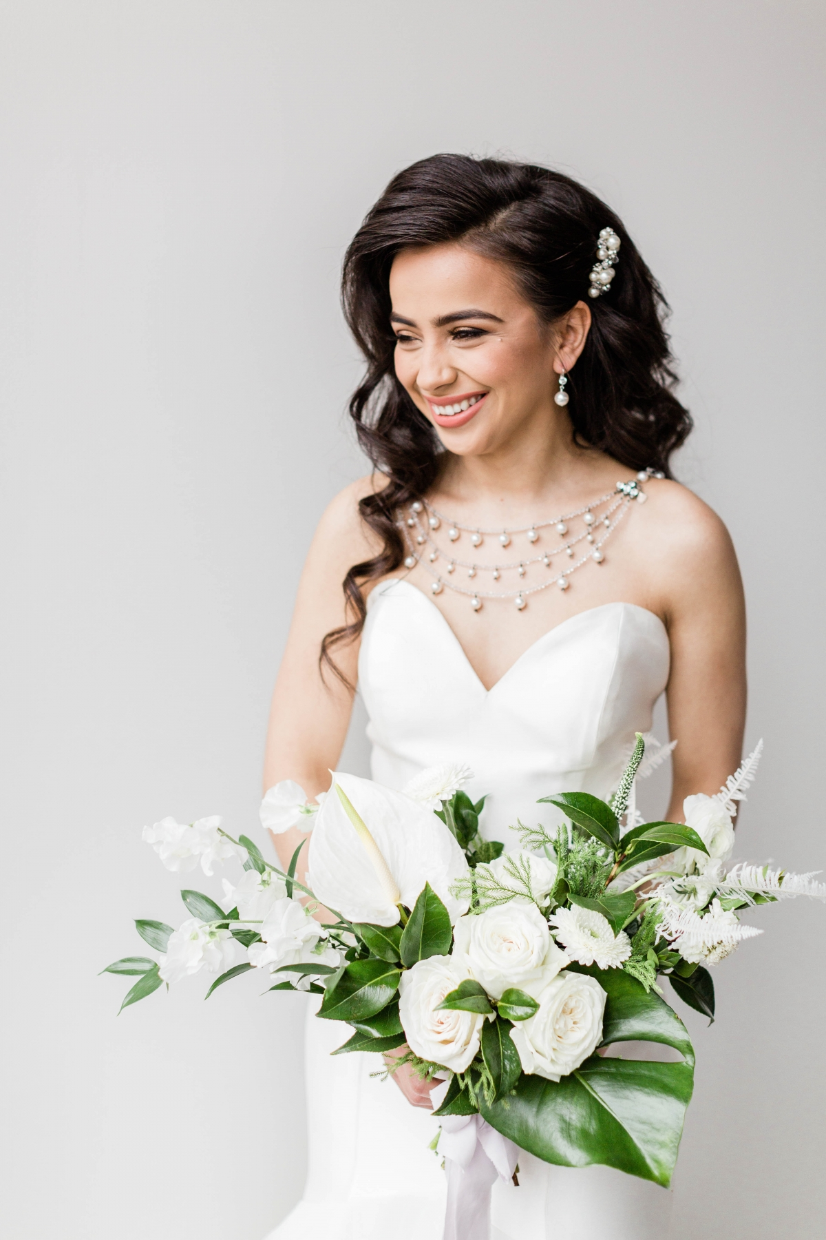 Bride with Statement Necklace