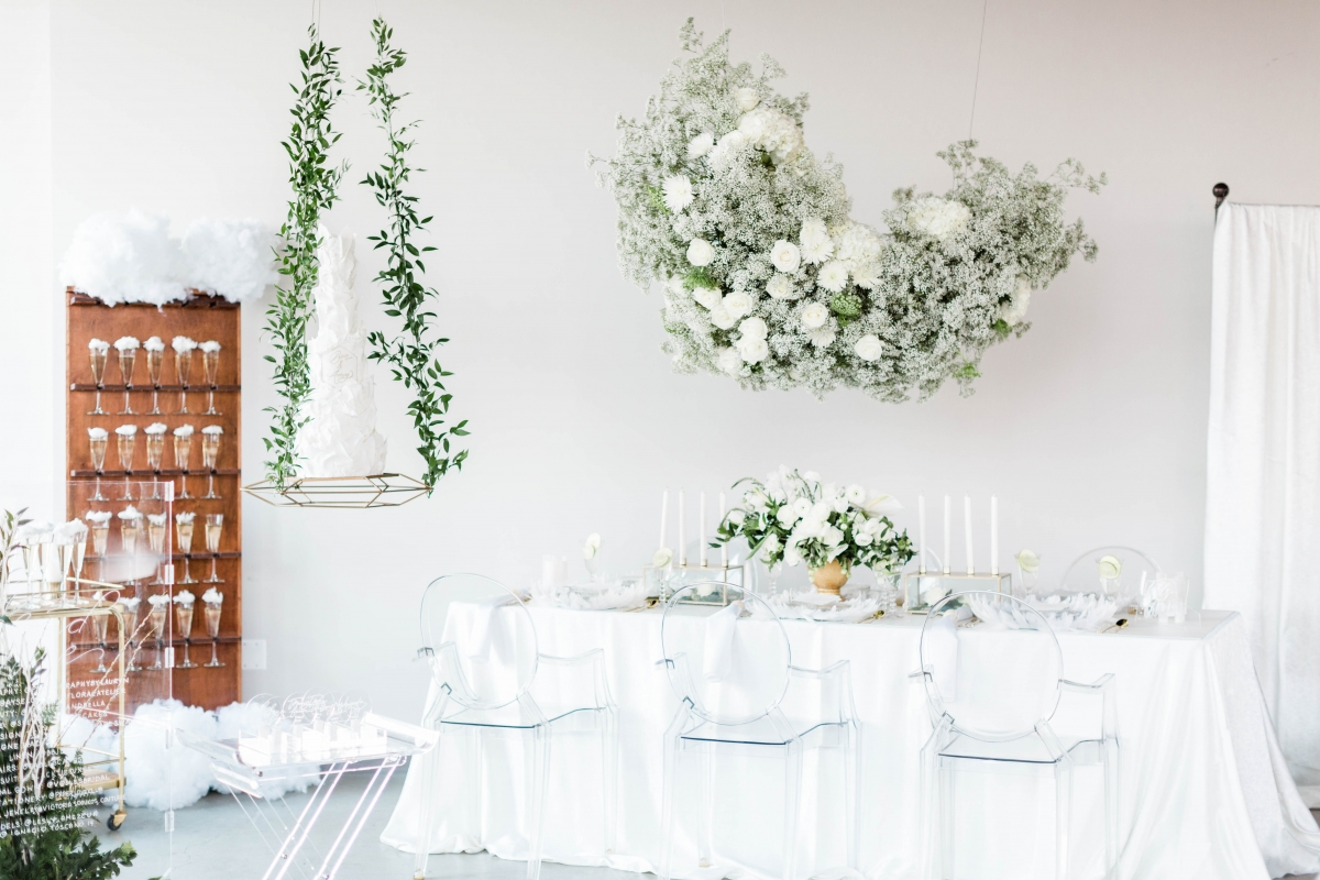 White Cloud Baby's Breath Wedding Inspiration