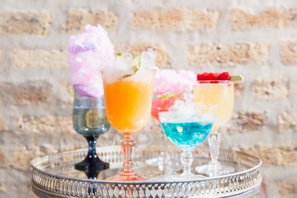 Colorful Iridescent Futuristic Chicago Wedding Inspiration (2)