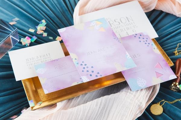 Colorful Iridescent Futuristic Chicago Wedding Inspiration (23)
