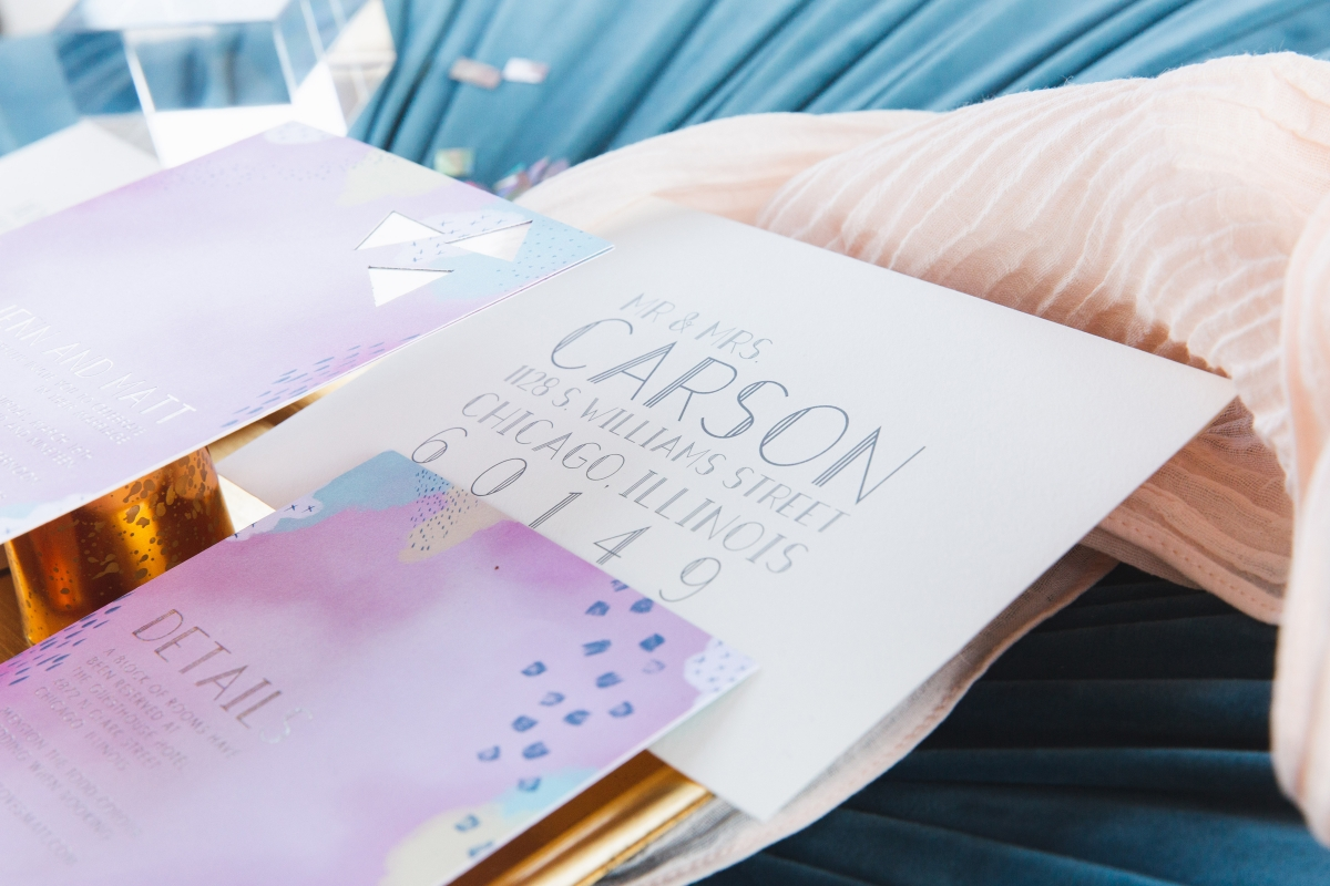 Colorful Iridescent Futuristic Chicago Wedding Inspiration 29