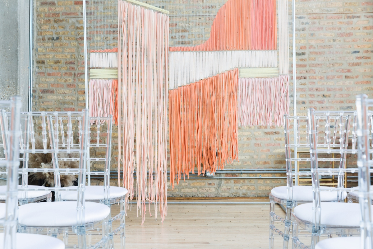 Colorful Iridescent Futuristic Chicago Wedding Inspiration 31