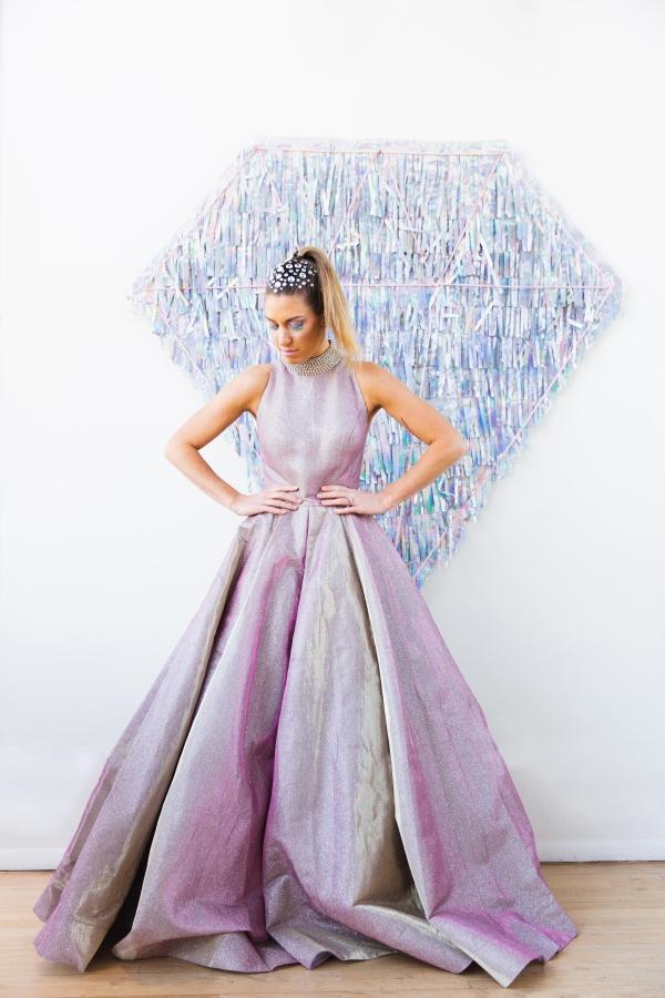 Colorful Iridescent Futuristic Chicago Wedding Inspiration (40)