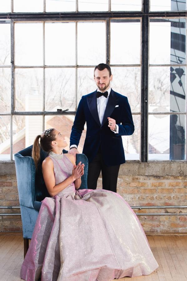 Colorful Iridescent Futuristic Chicago Wedding Inspiration (43)
