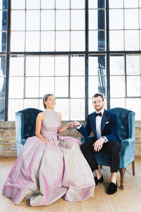 Colorful Iridescent Futuristic Chicago Wedding Inspiration (48)