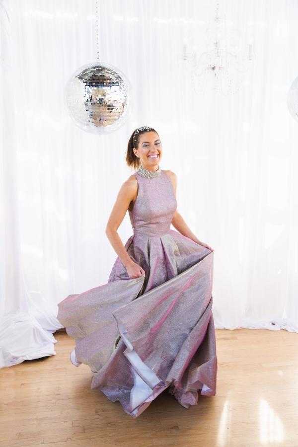 Colorful Iridescent Futuristic Chicago Wedding Inspiration (51)