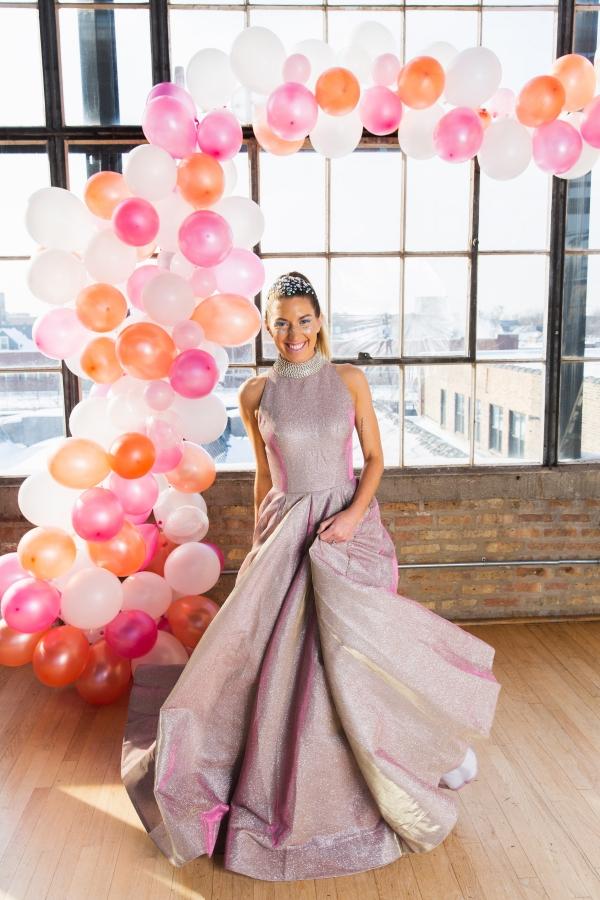 Colorful Iridescent Futuristic Chicago Wedding Inspiration (74)