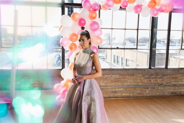 Colorful Iridescent Futuristic Chicago Wedding Inspiration (77)