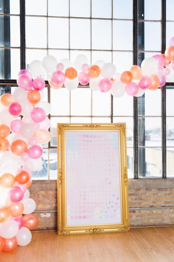 Colorful Iridescent Futuristic Chicago Wedding Inspiration (78)