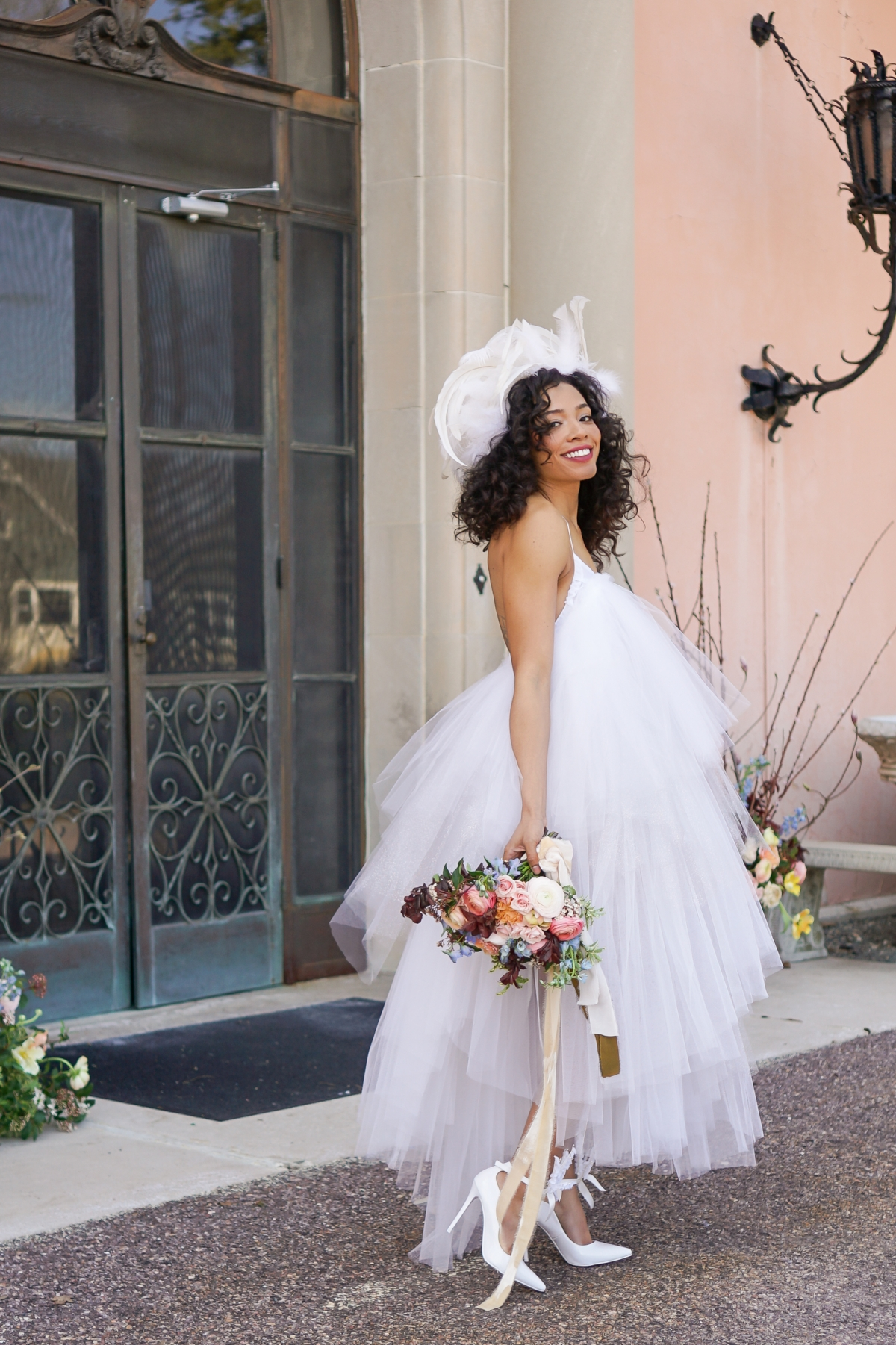 Cuneo Mansion High Fashion Wedding Inspiration 48