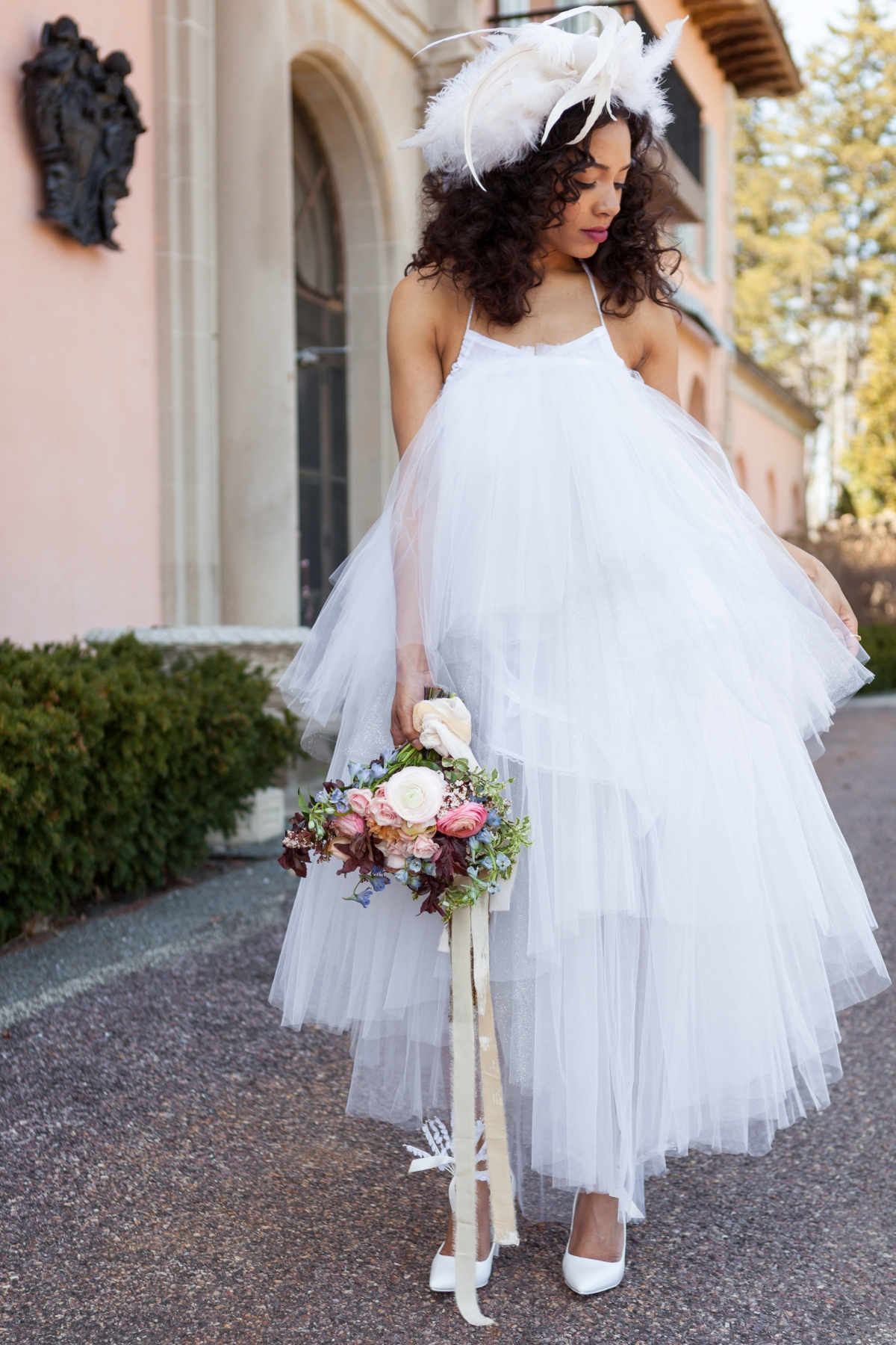 Cuneo Mansion High Fashion Wedding Inspiration 56