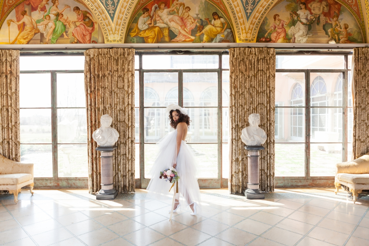Cuneo Mansion High Fashion Wedding Inspiration 70