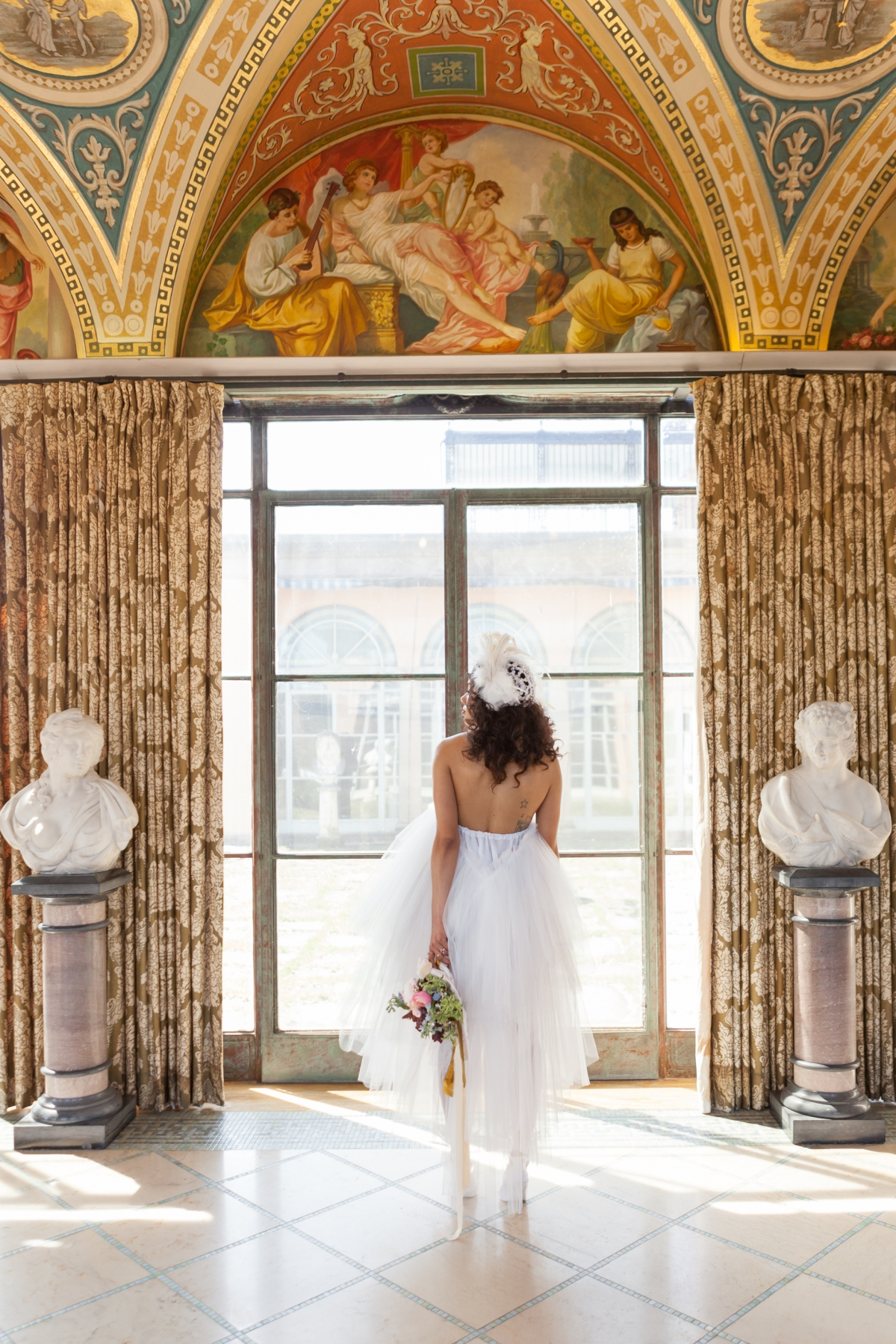 Cuneo Mansion High Fashion Wedding Inspiration 76