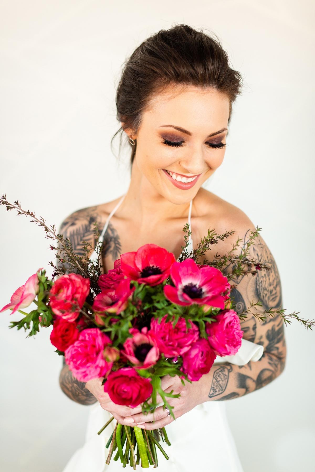 Edgy Romance Chicago Wedding Inspiration Alexandra Lee Photography Lakeshore in Love 186
