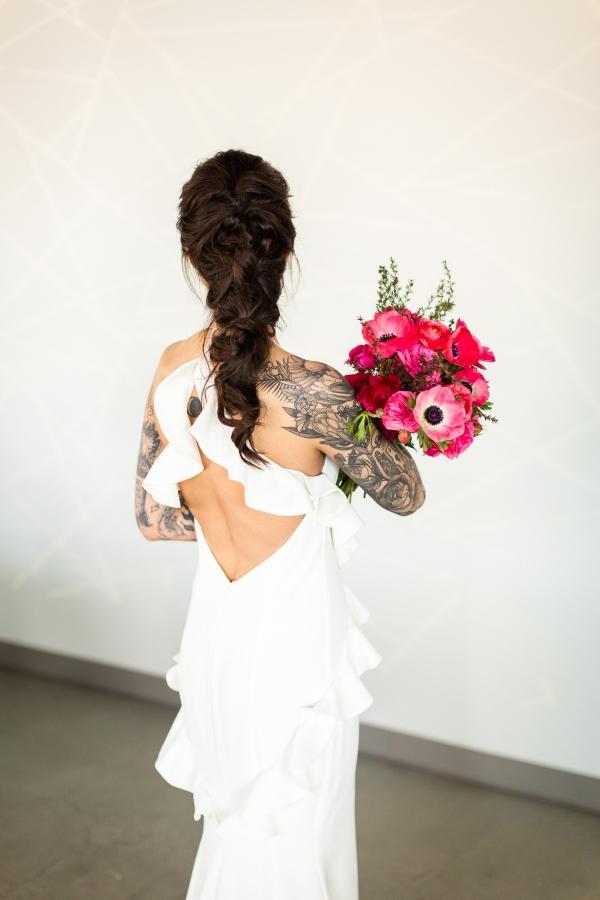 Edgy Romance Chicago Wedding Inspiration Alexandra Lee Photography Lakeshore in Love (198)