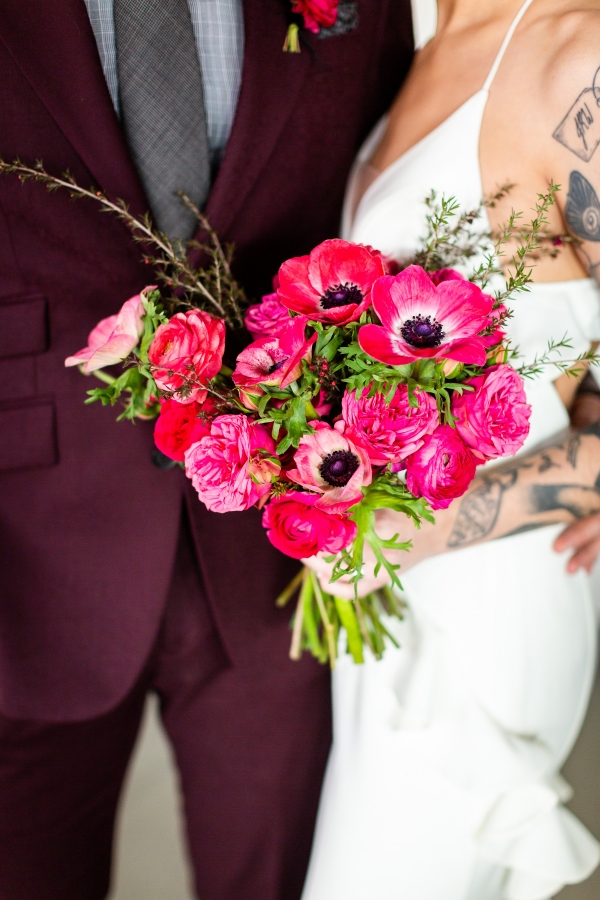Edgy Romance Chicago Wedding Inspiration Alexandra Lee Photography Lakeshore in Love (233)