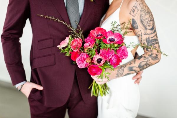 Edgy Romance Chicago Wedding Inspiration Alexandra Lee Photography Lakeshore in Love (234)