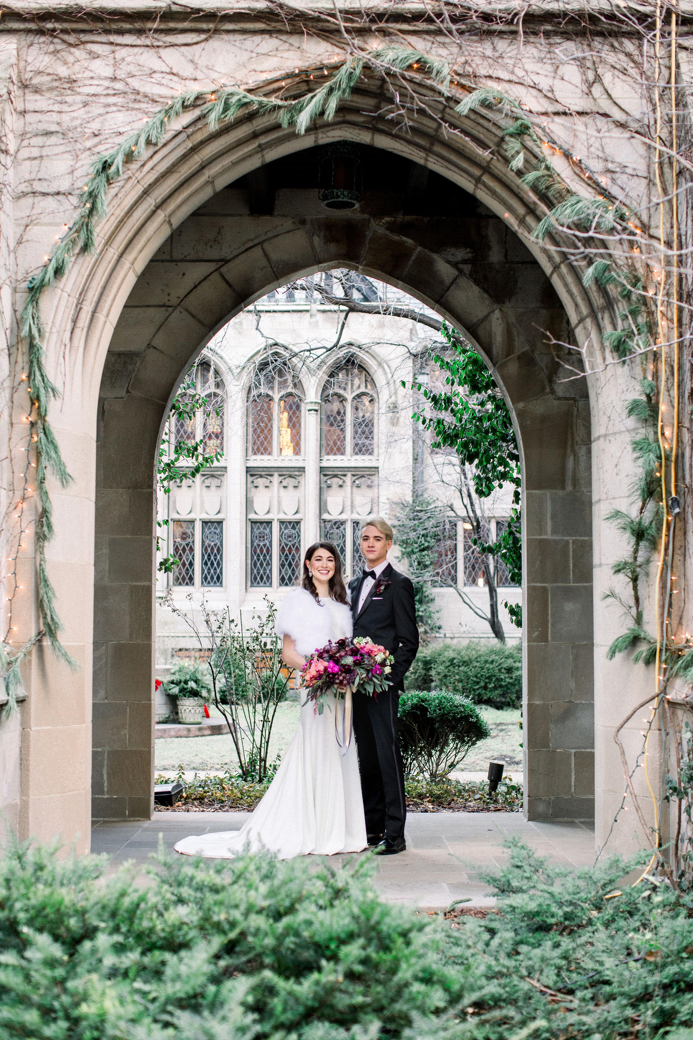 Fuchsia and Plum Chicago Jewel Tone Wedding Inspiration Lisa Hufford (25)