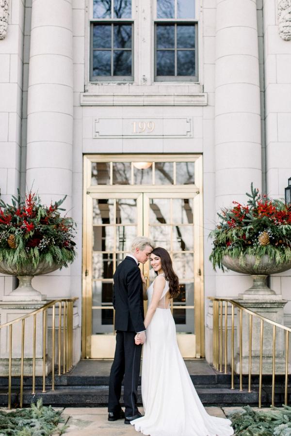 Fuchsia and Plum Chicago Jewel Tone Wedding Inspiration Lisa Hufford (28)