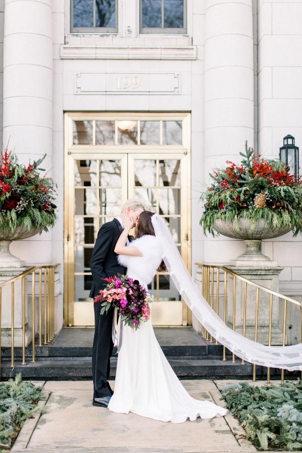 Fuchsia and Plum Chicago Jewel Tone Wedding Inspiration Lisa Hufford (31)