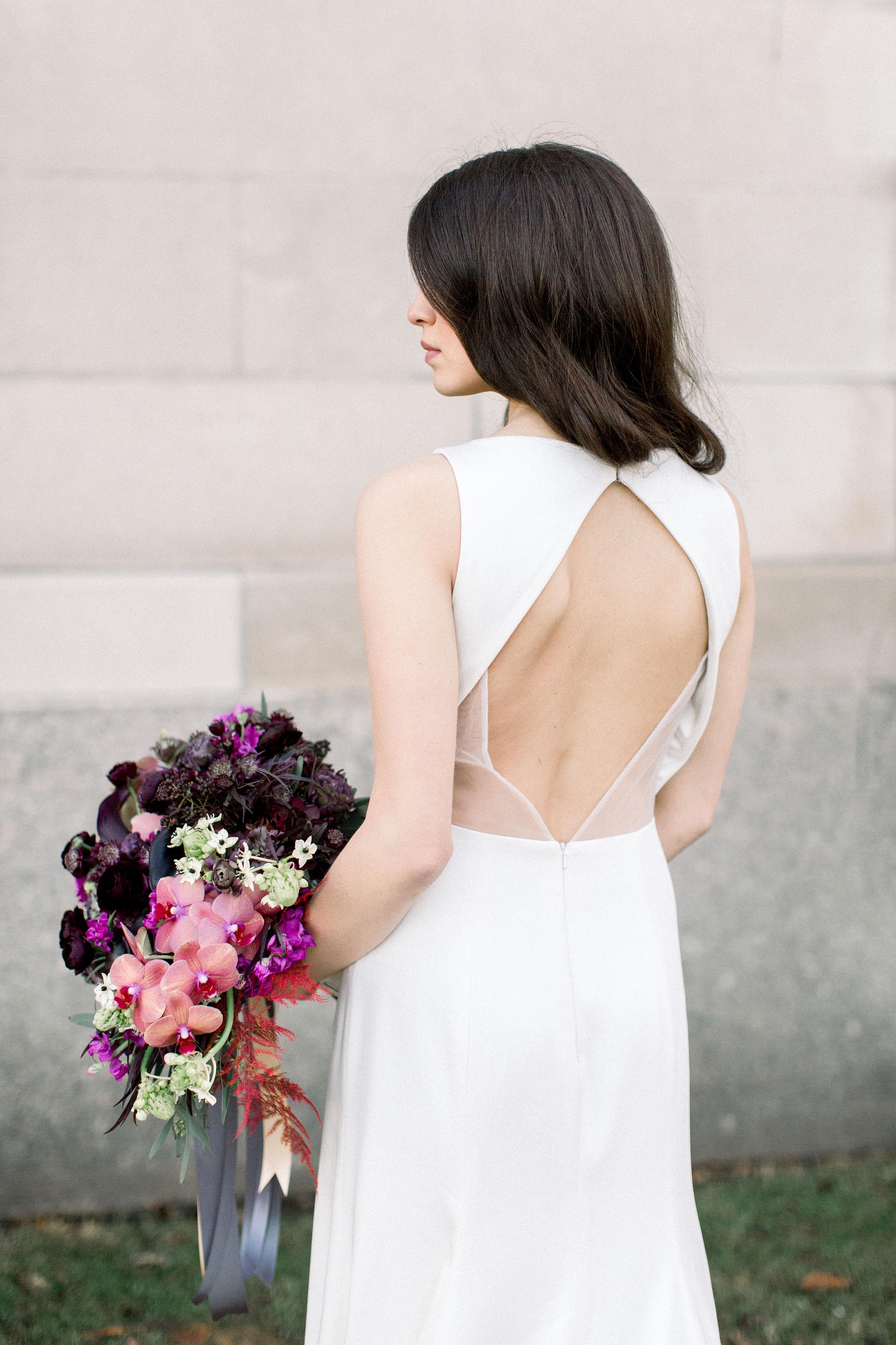 Fuchsia and Plum Chicago Jewel Tone Wedding Inspiration Lisa Hufford (34)