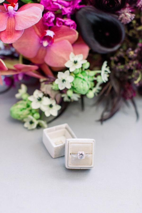 Fuchsia and Plum Chicago Jewel Tone Wedding Inspiration Lisa Hufford (4)