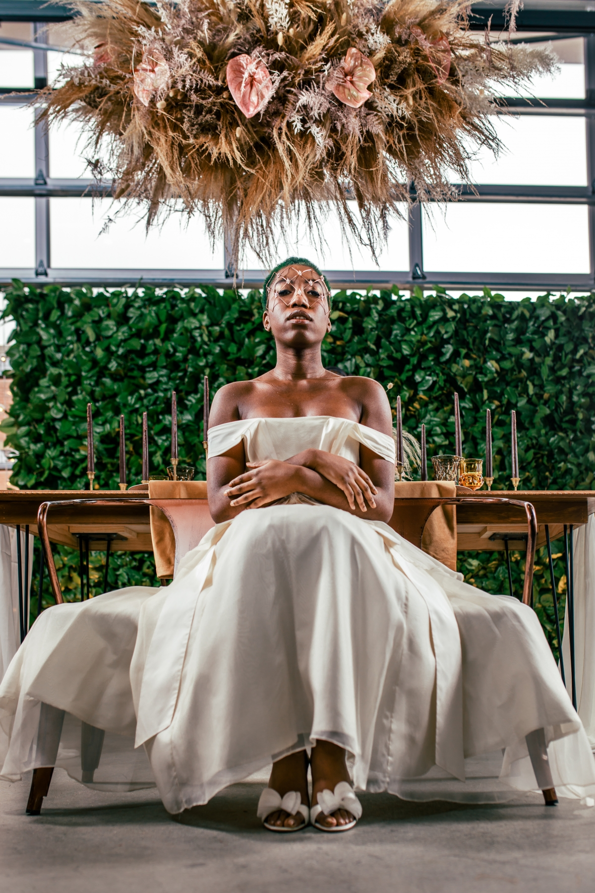 Lush Fantasy Chicago Wedding Inspiration Lakeshore in Love Tuan B 13