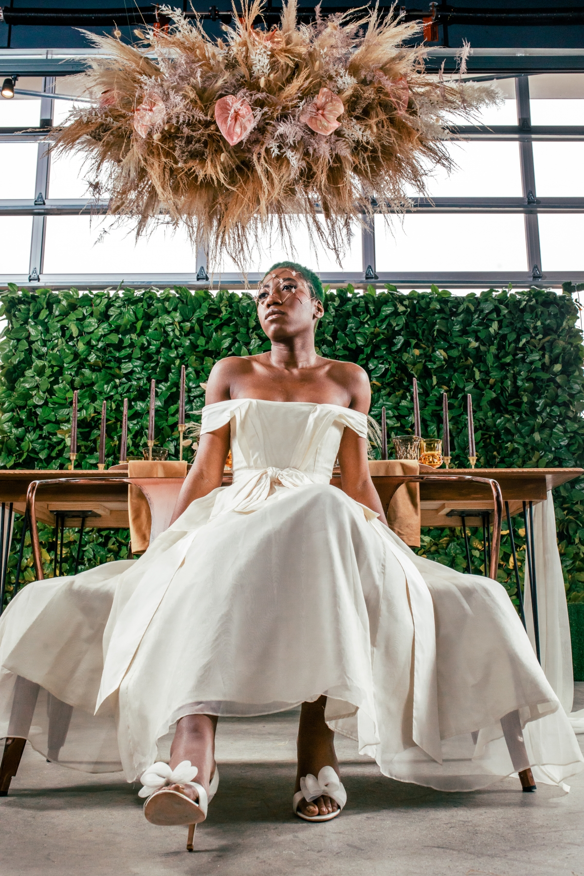 Lush Fantasy Chicago Wedding Inspiration Lakeshore in Love Tuan B 14