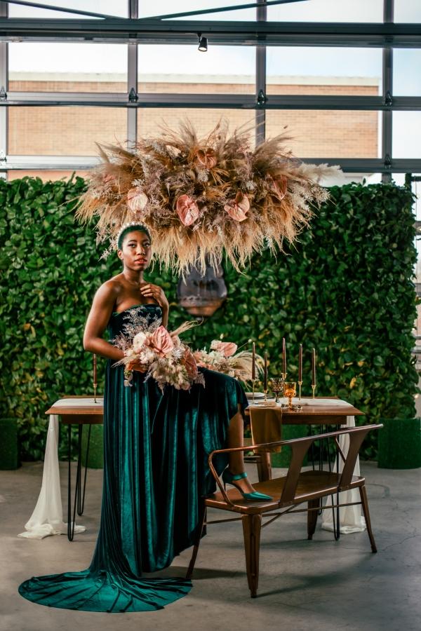 Lush Fantasy Chicago Wedding Inspiration Lakeshore in Love Tuan B (25)