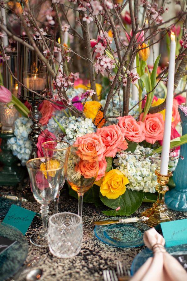 Luxe Floral Chicago Wedding Inspiration Lakeshore in Love Cristina G Photography (51)