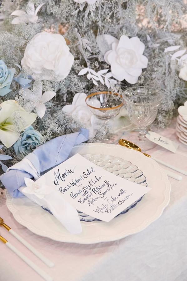Ombre Blue Chicago Loft Wedding Inspiration (32)