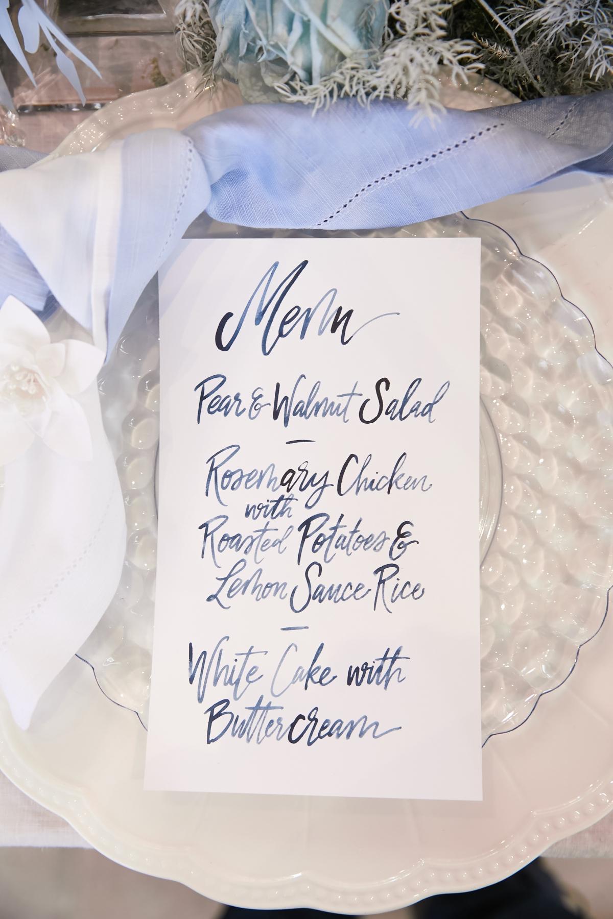 Ombre Blue Chicago Loft Wedding Inspiration 35