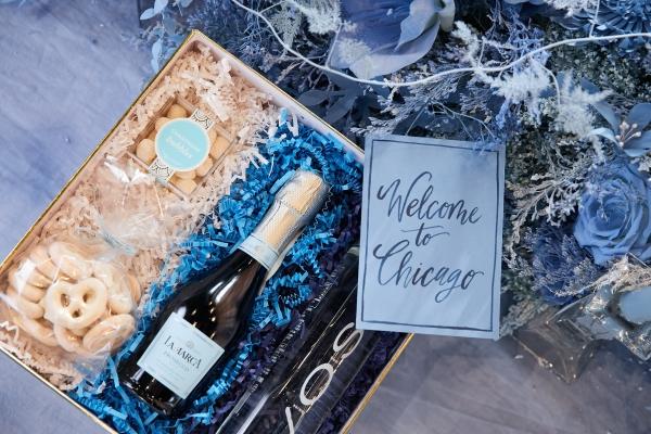 Ombre Blue Chicago Loft Wedding Inspiration (42)