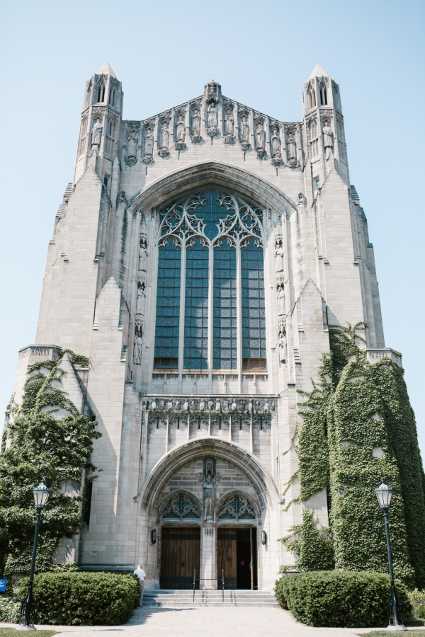 Rockefeller Chapel Wedding University of Chicago Vintage Chicago Wedding (1)