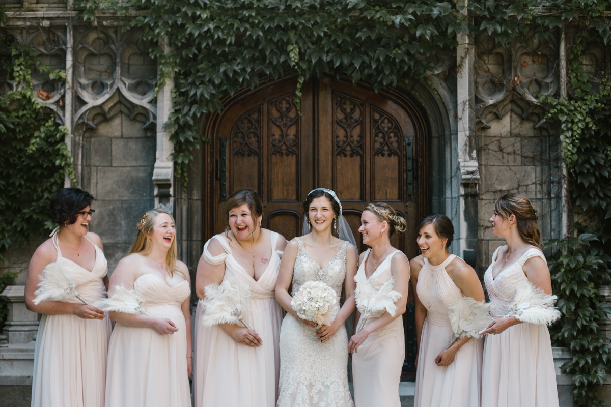 Rockefeller Chapel Wedding University of Chicago Vintage Chicago Wedding 11