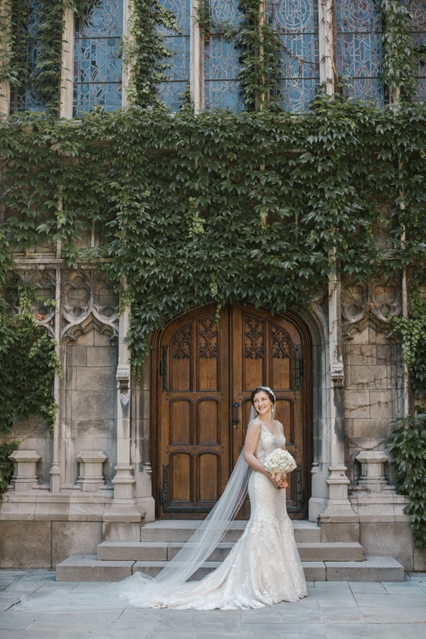 Rockefeller Chapel Wedding University of Chicago Vintage Chicago Wedding (12)