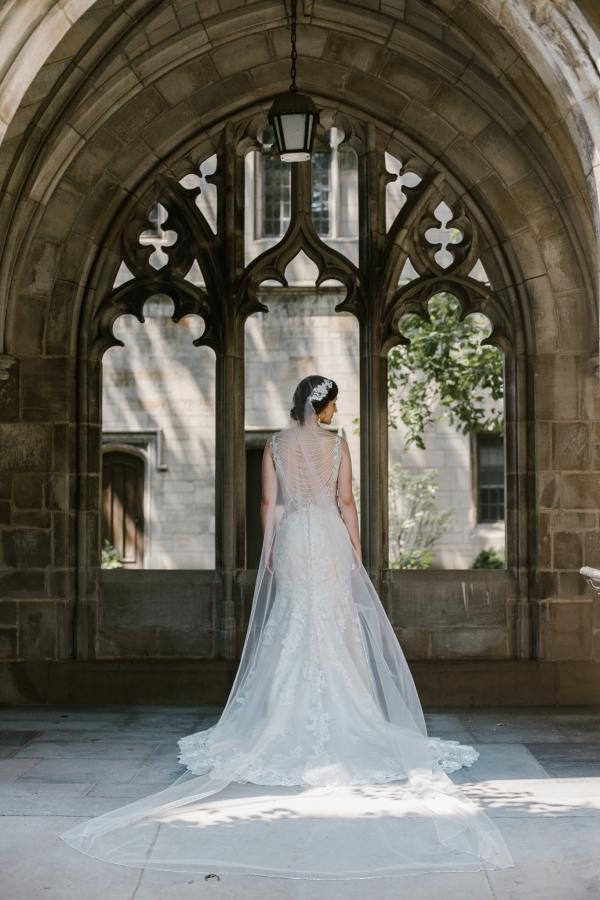 Rockefeller Chapel Wedding University of Chicago Vintage Chicago Wedding (14)